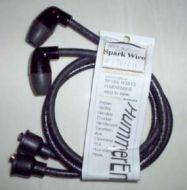 Indian 249 250 sparkplug wires with NOS boots # 1781011