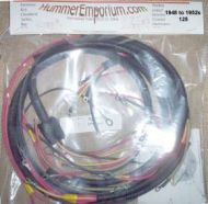 1948 to 1952s 125 wiring harness