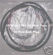 1950 to 1953 D1 30 watt wico pacy Geni Mag system