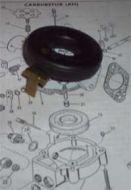 27680-61 AH Topper Carburetor float