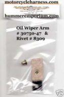 30750-47 Oil Wiper Arm & 8309 Rivet