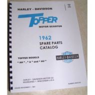 99453-62 Harley Topper Spare Parts Catalog