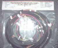 Harley WLA Military wiring harness #s above 618.025