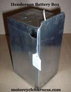 Henderson Battery Box 1927 to 1929 Deluxe
