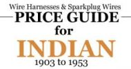 Down Load Indian Wire Harness and Spark plug Wire Price Guide